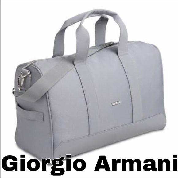 a3b0fe687539 Limited edition GIORGIO ARMANI TRAVEL bag